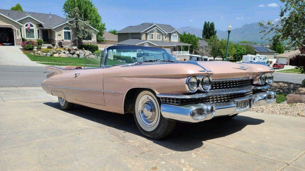 1959 Cadillac Deville Convertible [all original]