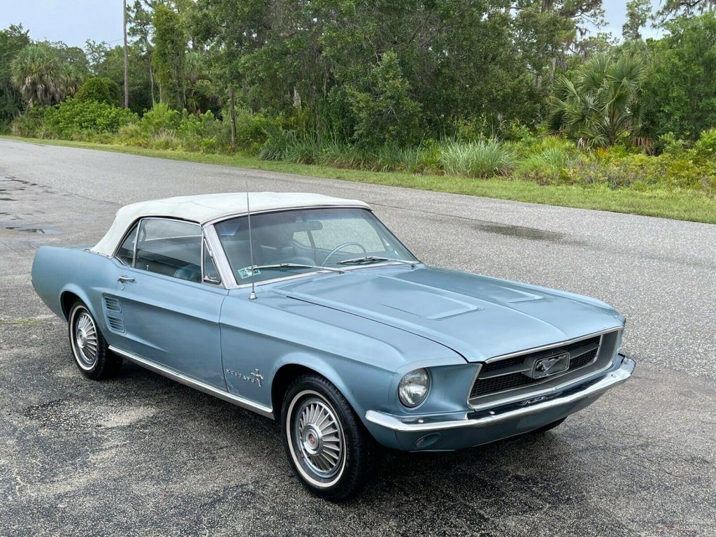 1967 Ford Mustang Sport Sprint Convertible [Very rare limited edition]