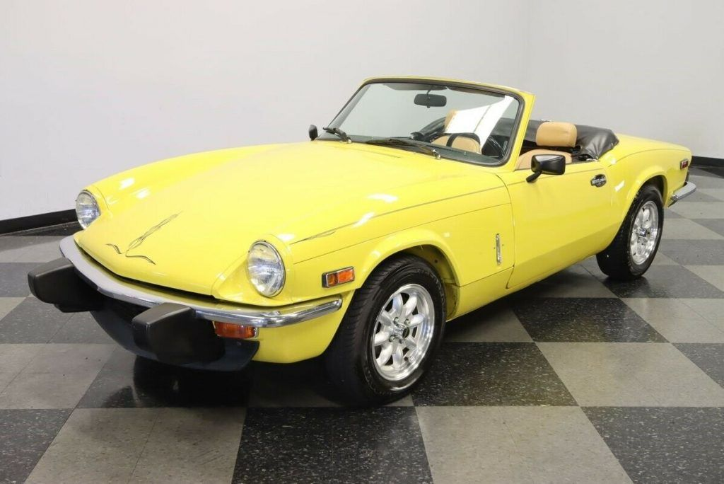 1977 Triumph Spitfire Convertible [Italian styling wrapped in British package]