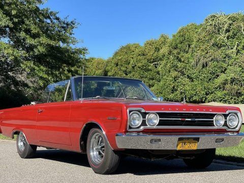 1967 Plymouth Belvedere Convertible [restored with low miles] for sale
