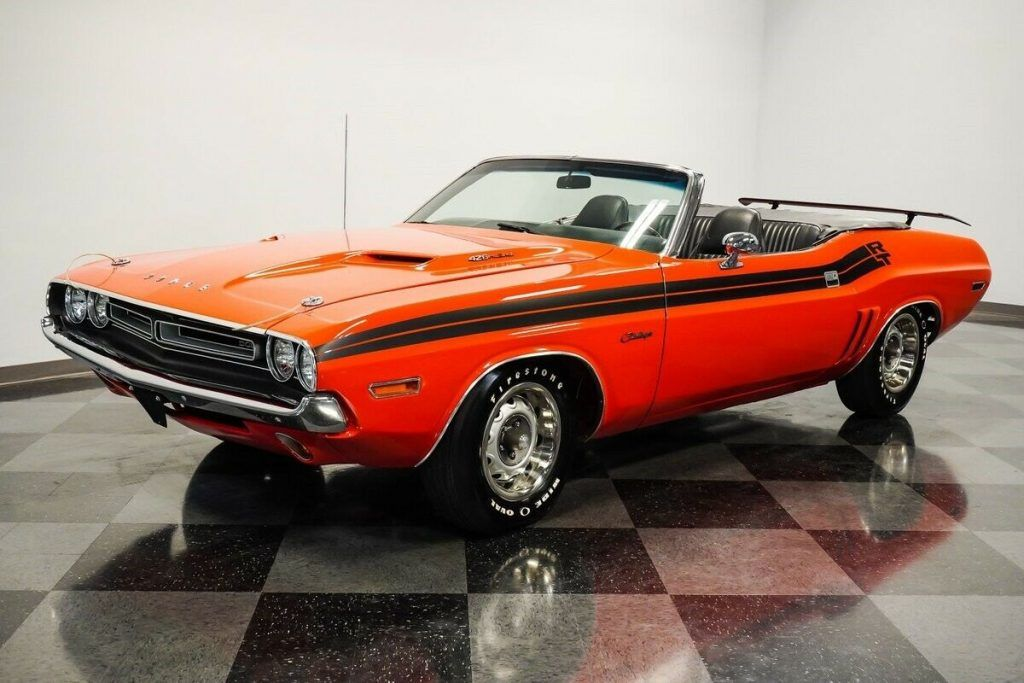 1971 Dodge Challenger Convertible [perfectly restored]