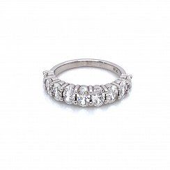 9-stone Oval Diamond Ring