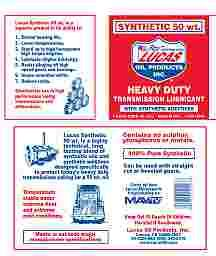 Synthetic 50wt Transmission Lube