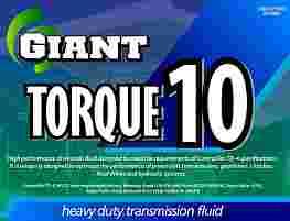 GIANT TORQUE 10
