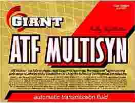 GIANT ATF MULTI-SYN