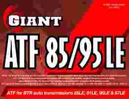 GIANT ATF 85/95LE