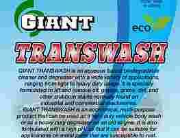 GIANT TRANSWASH