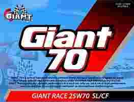 GIANT 70 RACE 25W-70