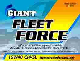 GIANT FLEET FORCE 15W-40 CI-4/SL