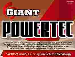 GIANT POWERTEC 5W-30 SN