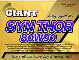 GIANT SYN THOR 80W-90