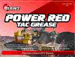 GIANT POWER RED GREASE EP2