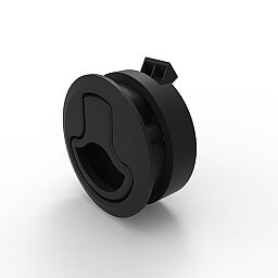 FLUSH PULL LATCH - LOCKING (STAINLESS STEEL)