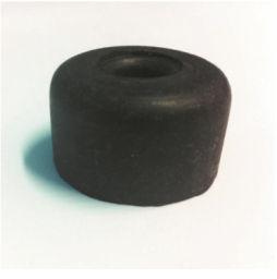 BUFFER RUBBER ROUND - (BLACK)
