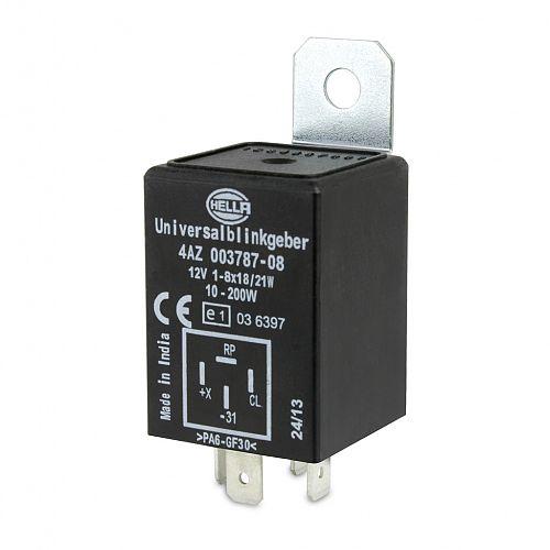Electronic Flasher Unit - 12V 4 Pin High Capacity on