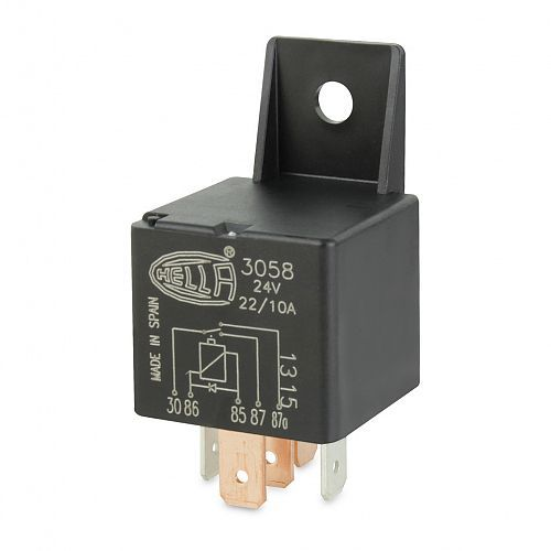 24V 5 Pin Change-over Mini Relay - 22/10A - Diode  Pin Relay Wiring V on