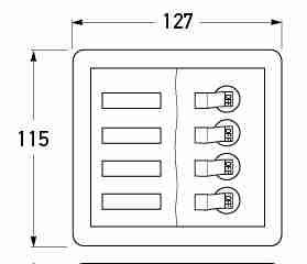 P/N 2693 - All dimensions in mm.