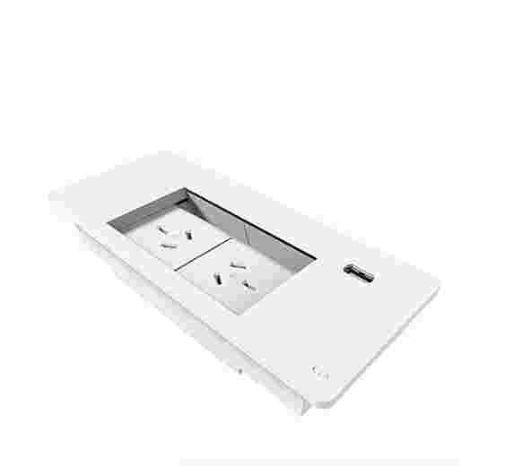 Flush mount 2x GPO + 1x USB