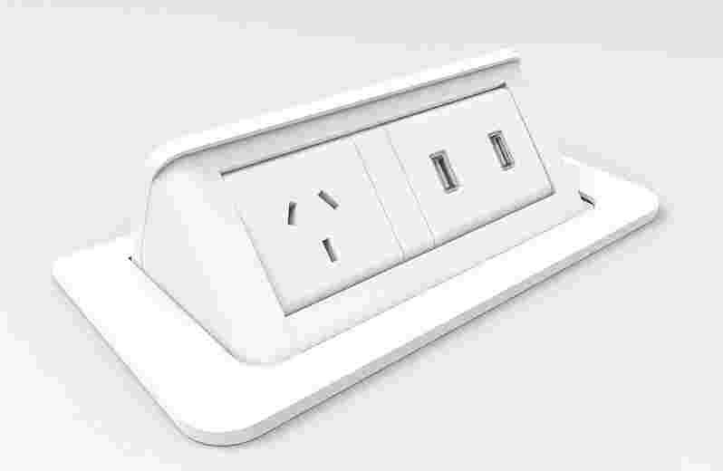 1x GPO + 2x fast charge USB
