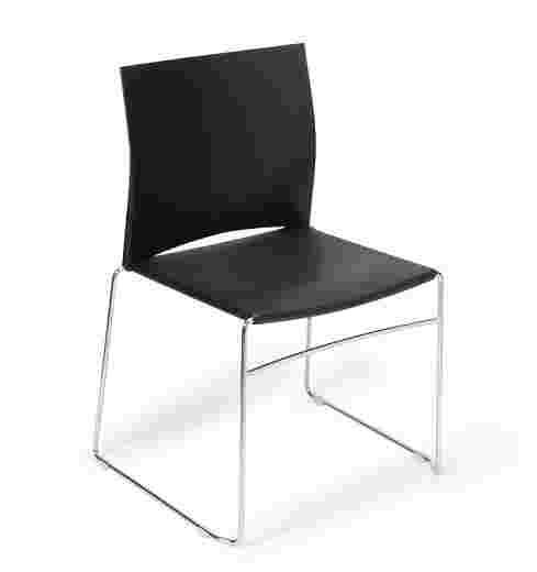 Polypropylene seat + back