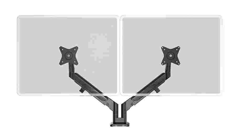 Dual Arm - Black