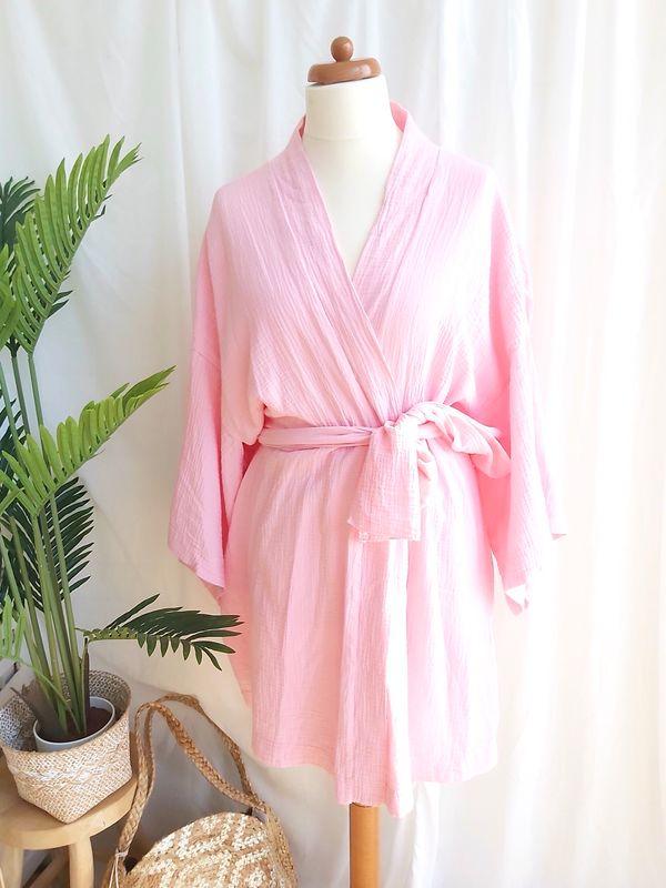 Kimono Mylee roze