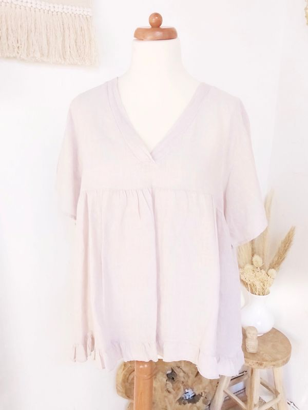 Blouse Bella taupe