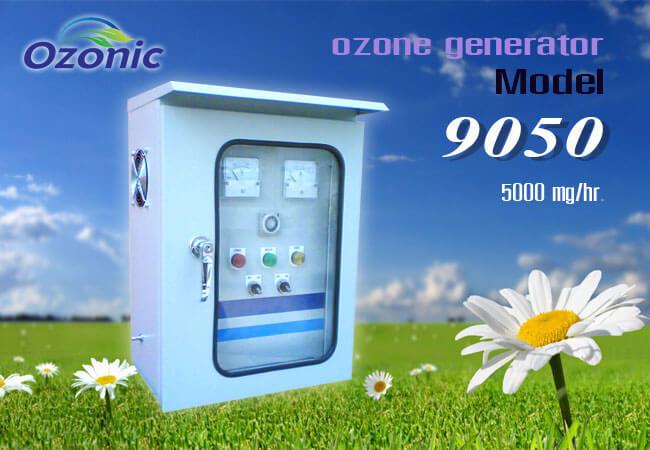 เครื่องผลิตโอโซนอุตสาหกรรม รุ่น OZ-9050