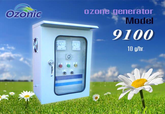 เครื่องผลิตโอโซนอุตสาหกรรม รุ่น OZ-9100