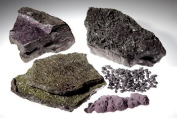 Purple material various sizes