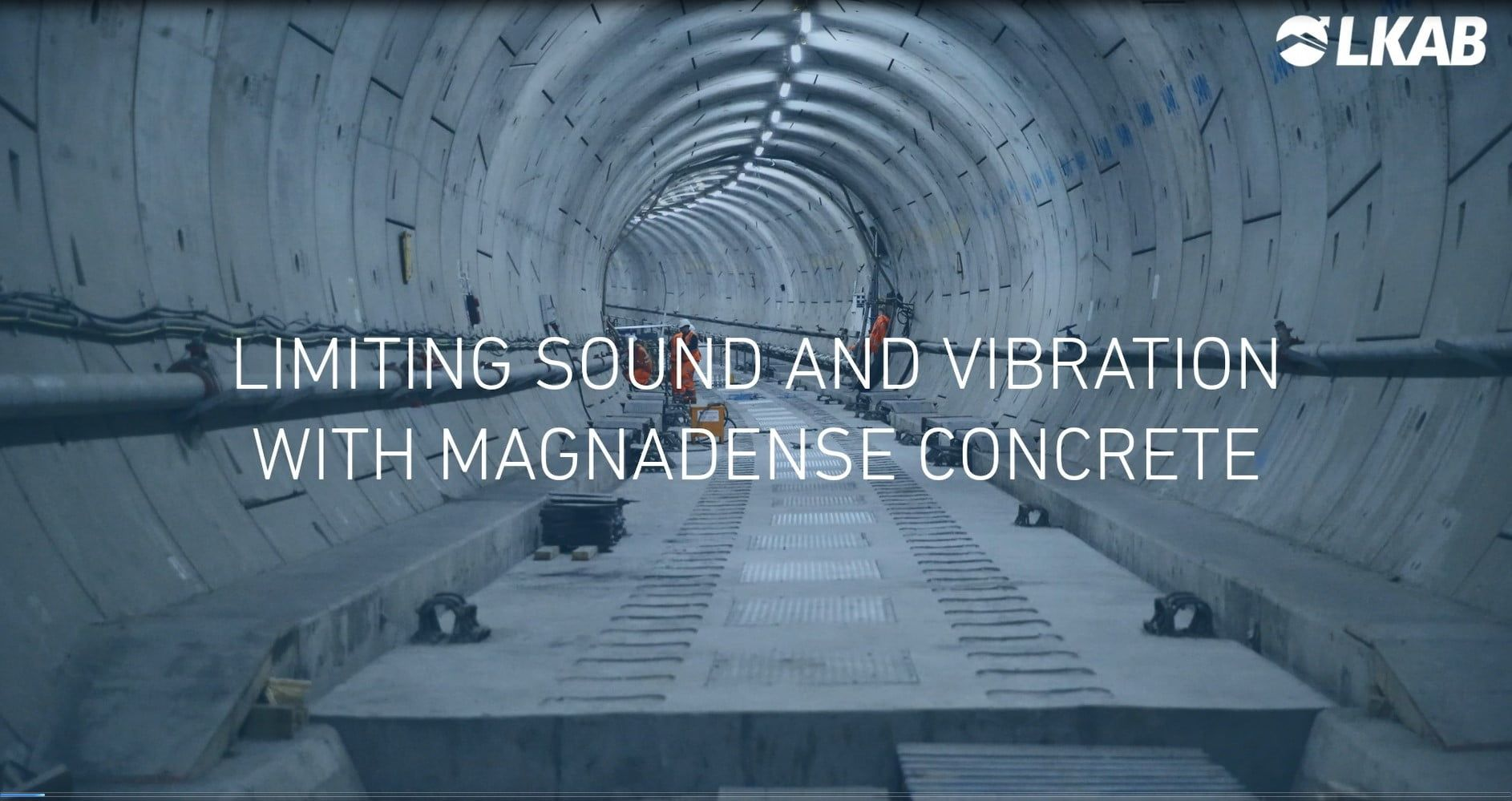 limiting sound and vibration with concrete video