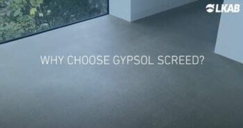 Why choose gypsol floor screed