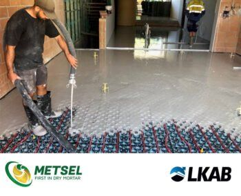 Gypsol flowing anhydrite screed available in Australia