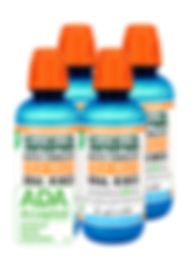 TheraBreath Icy Mint Oral Rinse Family Pak Mouthwash