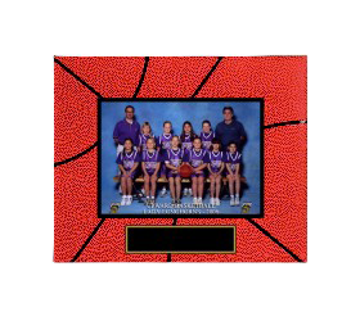 "Picture of (CLOSEOUT) Basketball Sport Picture Frame (Holds 5"" x 7"" Photo)"