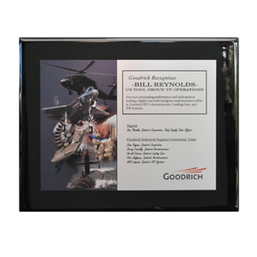 Picture of Goodrich Performance Award