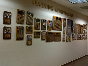 Picture of Learning Achievements Wall