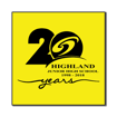 5 x 5 Engraved Plastic Sign | Yellow Engraves Black