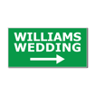 5  x 10  Engraved Plastic Sign | Green Engraves White