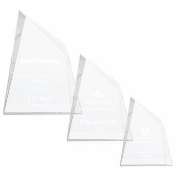 Crystal Pinnacle Of Success Award | 3 Sizes Available | Engraving Included