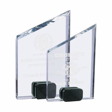 Crystal Allotrope Award | 2 Sizes Available | Engraving Included