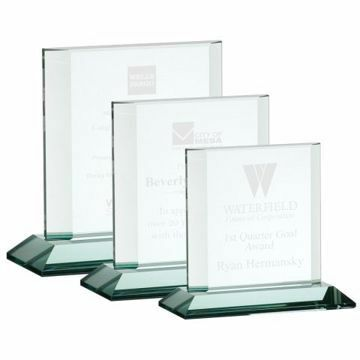 Athens Glass Award | 3 Sizes Available | Engraving Included