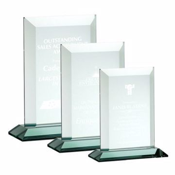 Century Glass Award | 3 Sizes Available | Engraving Included