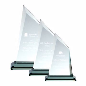 Meridian Glass Award | 3 Sizes Available | Engraving Included
