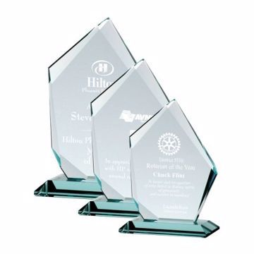 Summit Glass Award | 3 Sizes Available | Engraving Included