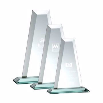 Tower Glass Award | 3 Sizes Available | Engraving Included