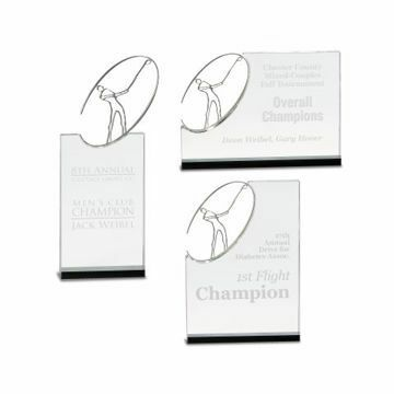 Crystal Golf Award Series | 3 Styles Available | Engraving Included