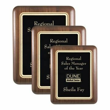Elliptical Edge Plaque | 3 Sizes Available | Engraving Included