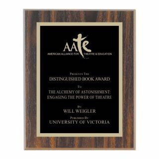 """Value Walnut Plaque 12"""" x 15"""" 