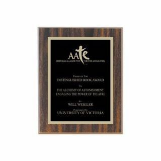 """Value Walnut Plaque 8"""" x 10"""" 